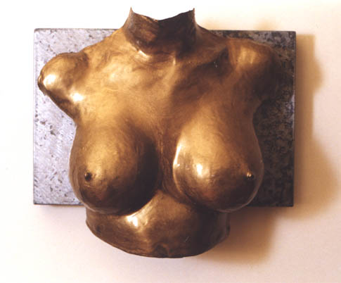 The Bust Project: Jade in Gold by Toby Hilden