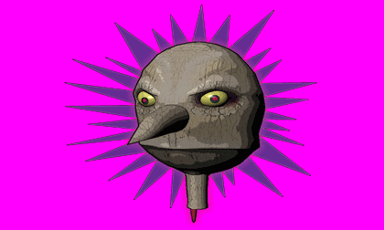 evil puppethead