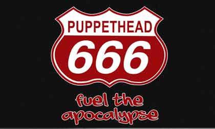 evil puppethead 666